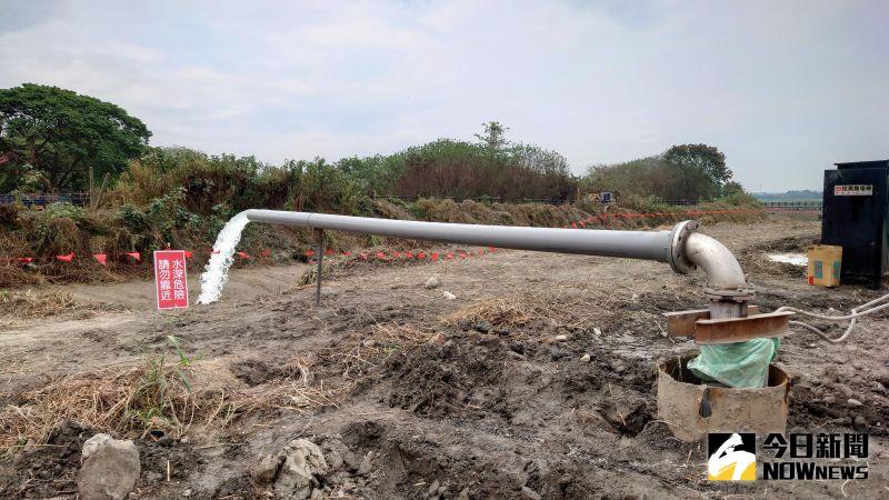 鑿井工程緊緊緊 澄清湖儲水已超過一半