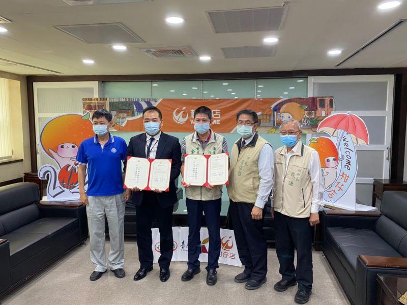 台南市長黃偉哲等人今日一同出席結盟儀式