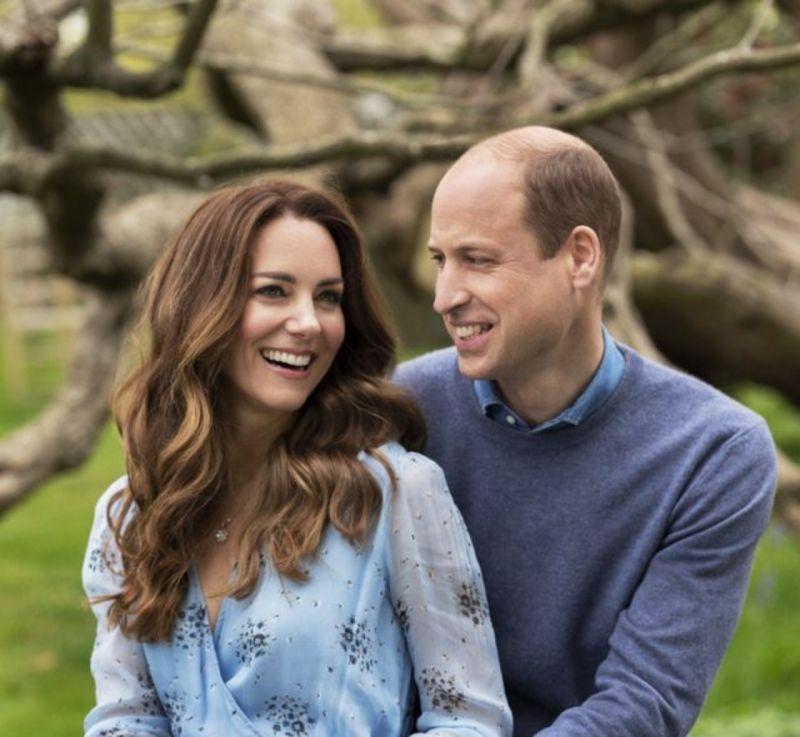 ▲英國威廉王子和妻子凱特今天慶祝結婚10週年,在官方推特發布新照片,紀念「錫婚」。(圖/取自kensingtonroyal IG)