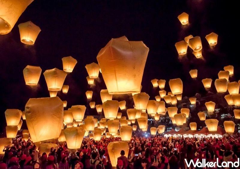 ▲平溪天燈節在2021年因疫情衝擊首次延後舉辦,終於敲定將於7/24、7/31登場。(圖/Taipei Walker提供)