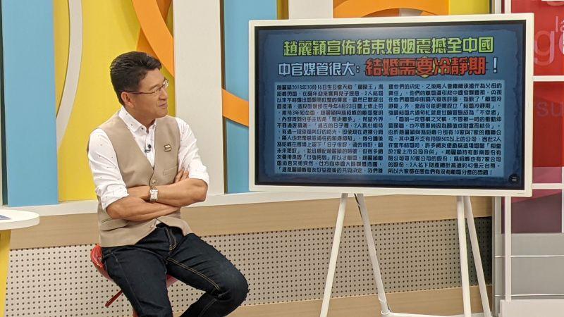▲謝震武表示江宏傑世大運的表現、外型帥氣加總起來是有遠景的。(圖/和展影視提供)