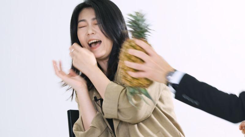 曹雅雯見「鳳梨」秒尖叫大哭 死穴意外曝光