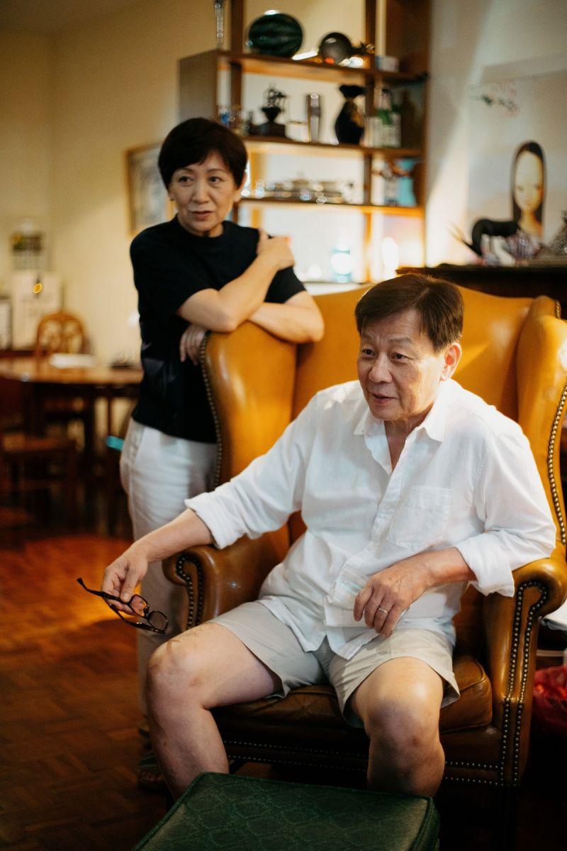 ▲寇世勳(右)、鮑起靜在片中精采詮釋老夫老妻的日常生活。(圖/希望行銷)