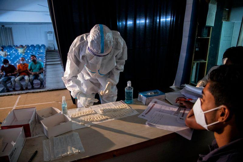 印度武漢肺炎疫情惡化 首名台幹染疫身亡