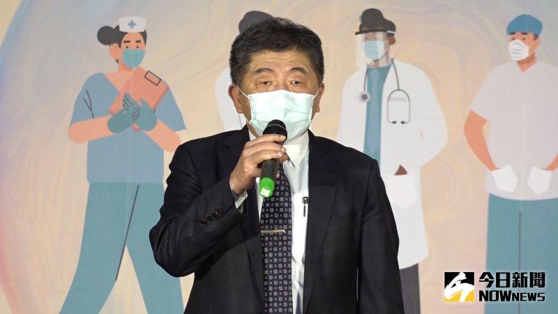 ▲衛福部長陳時中今(4)天上午出席台大醫院活動。(圖/記者朱永強拍攝)