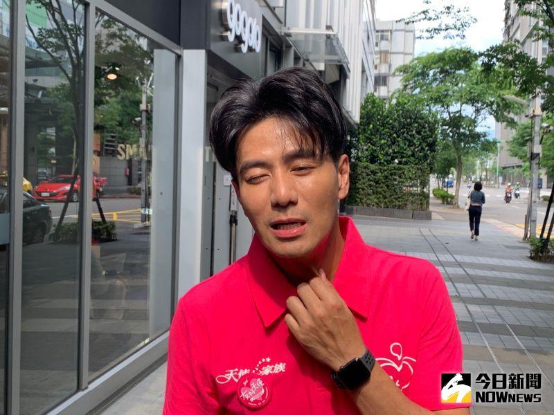 ▲郭彥均加入《全明星運動會》後,練習練到喉嚨受傷。(圖/記者朱曼寧攝)