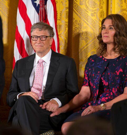 ▲比爾蓋茲與梅琳達結縭27年,爆出離婚消息,財產分配受外界注目。資料畫面。(圖/美聯社/達志影像)