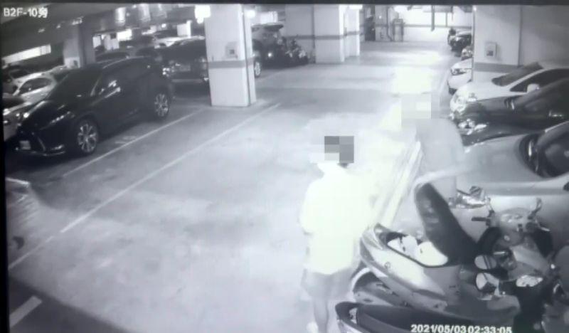 影/偷遍社區鄰居車上零錢 電梯前與警尷尬巧遇遭逮