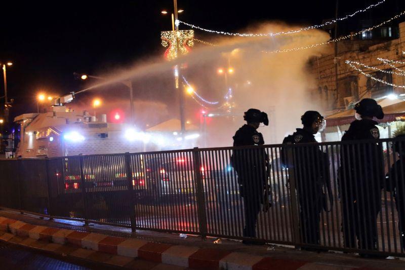 耶路撒冷以巴衝突數百傷 阿拉伯國家譴責以色列