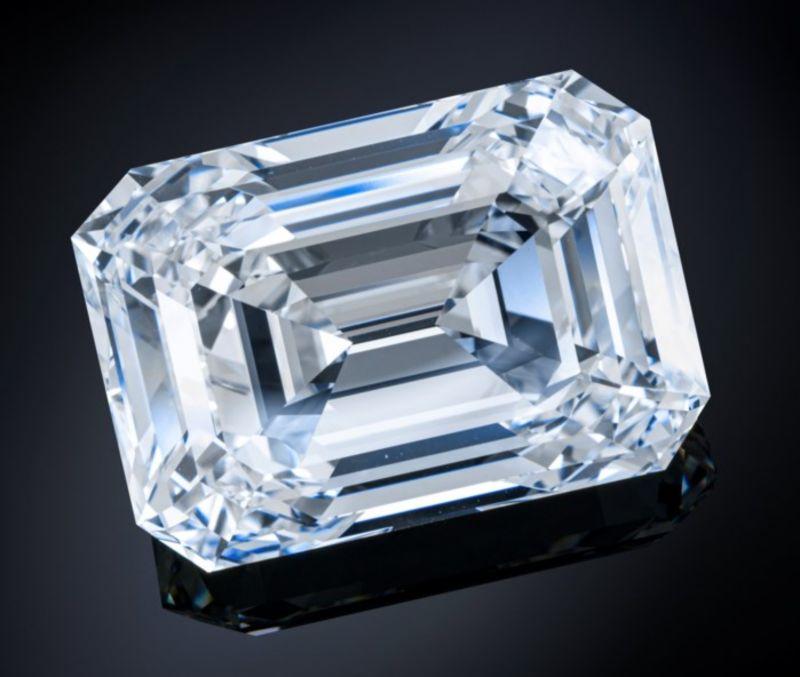 近101克拉!俄最大切割鑽石將拍賣 估價最高達5億台幣