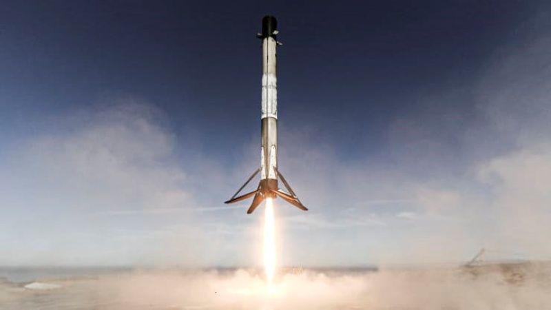 ▲SpaceX的獵鷹9號火箭。(圖/翻攝自CNBC)