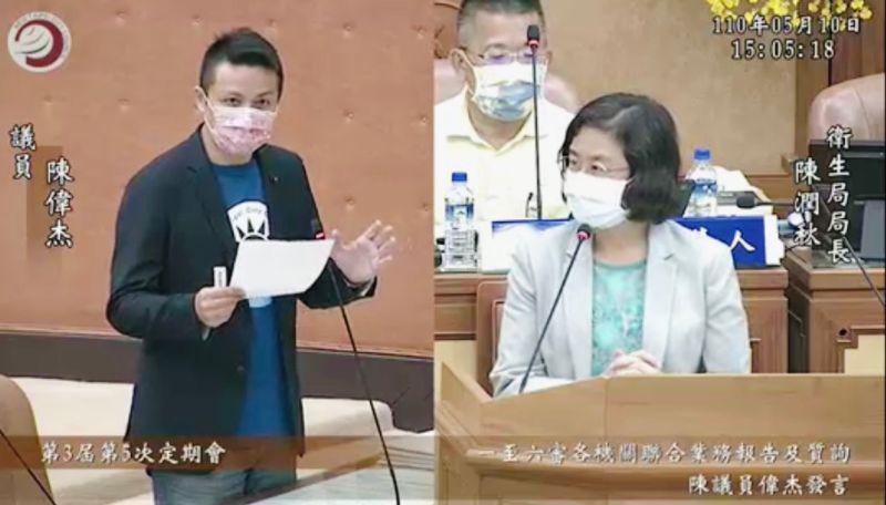 便利65歲長輩打疫苗 新北議員陳偉杰籲:推隨到隨打