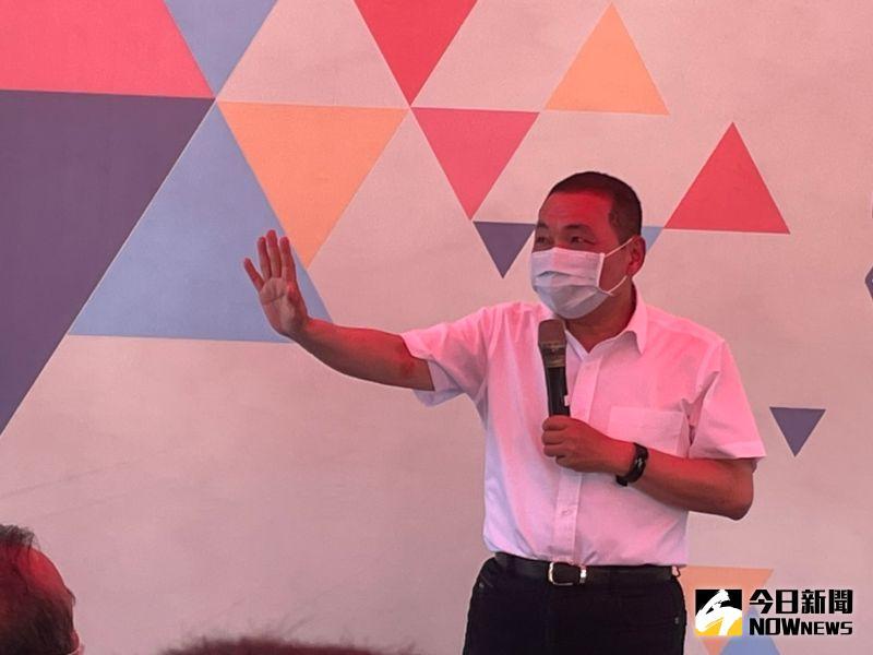 ▲新北市長侯友宜今(11)日強調,台灣是全球的一份子,一定有資格跟全球的衛生組織站在一塊。(圖/記者陳志仁攝,2021.05.11)