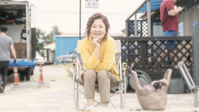 ▲金海淑劇中是一位為女兒而活的媽媽。(圖/中天娛樂台)