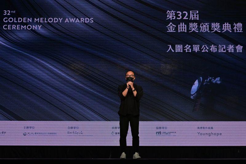 ▲鍾成虎擔任第32屆金曲獎評審團主席。(圖/台視提供)