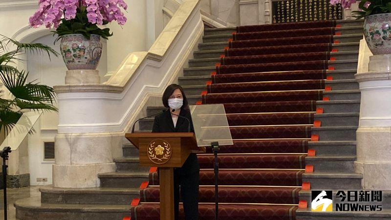 疫情爆!蔡英文:七月底國產疫苗施打、打越多台灣越安全
