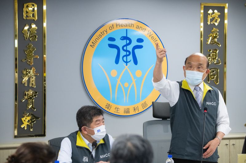 防疫暫不升級 蘇貞昌:未來兩週是阻斷傳播關鍵
