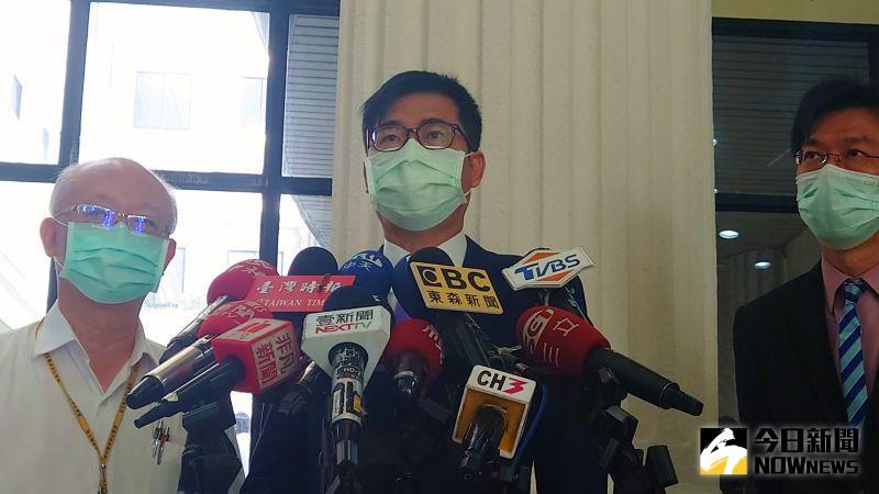 小港傳確診案例?陳其邁:疫情均由中央公布、民眾勿轉傳