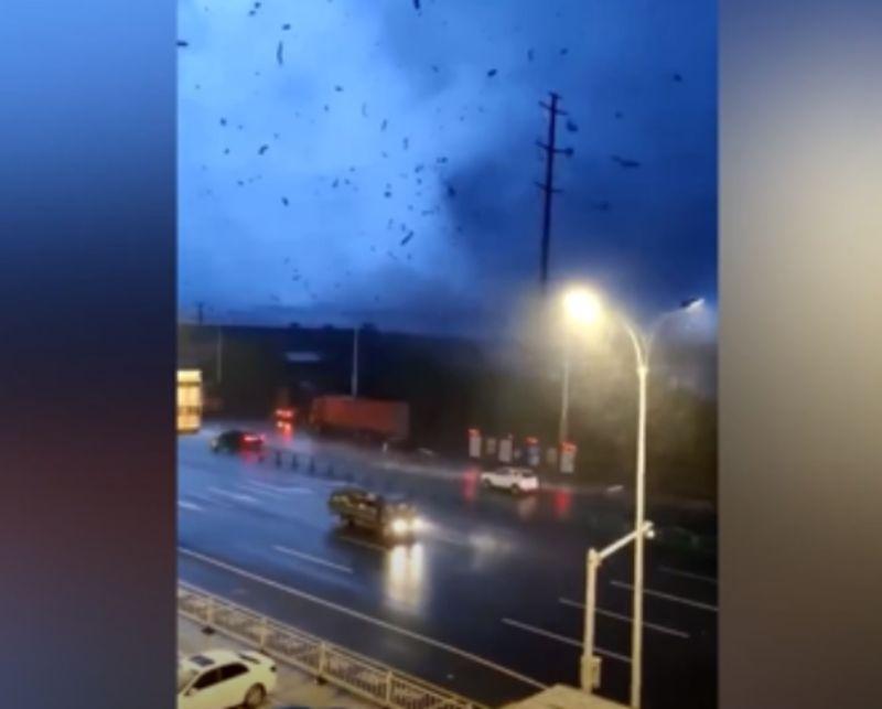 極端氣候釀災!龍捲風襲蘇州、武漢 影像曝光