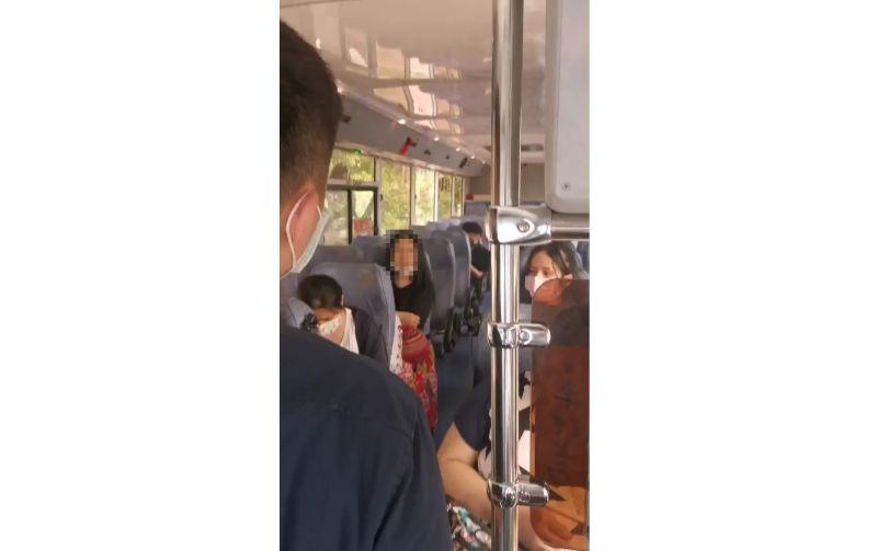影/未戴口罩女遭拒載 桃客董座:我們要保護乘客安全