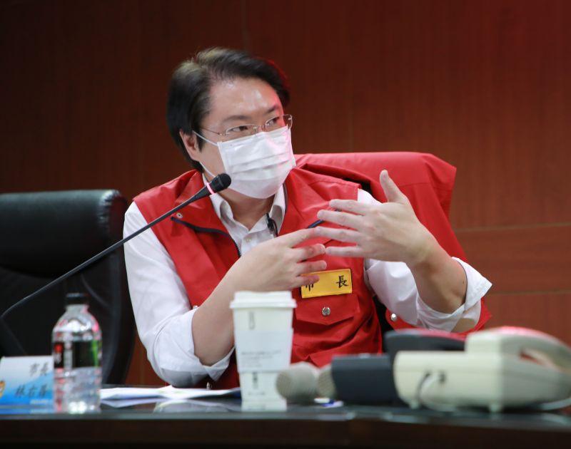 防疫為重 林右昌:市府明起採彈性分流上班