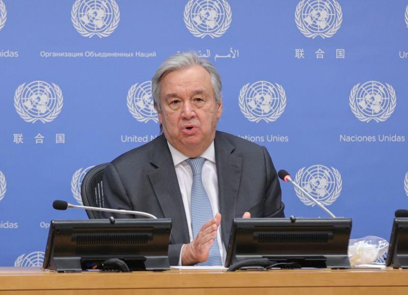 古特瑞斯續任聯合國秘書長 矢言記取疫情教訓