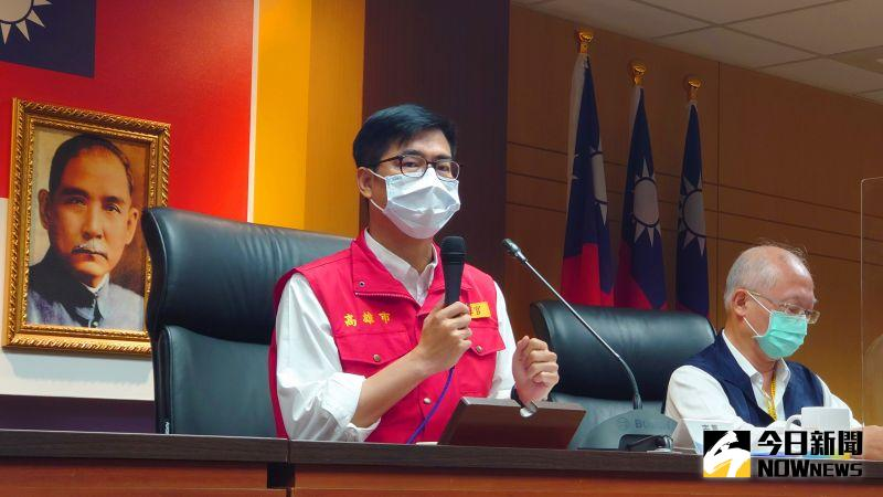 直播/本土疫情擴散 陳其邁宣示高雄防疫措施