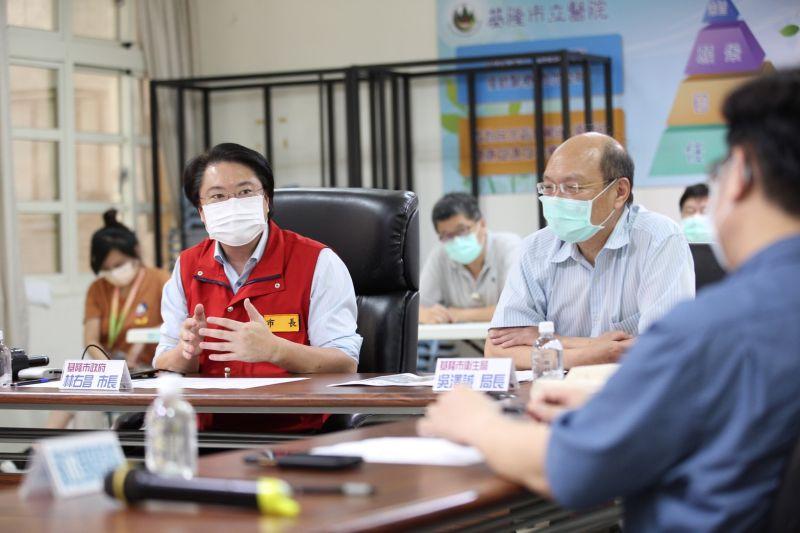 疫情嚴峻 林右昌召開防疫醫療整備會議