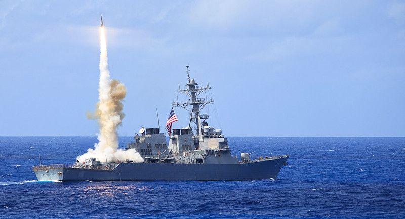 拜登上任後美艦第五度通過台海 國防部:全程掌握