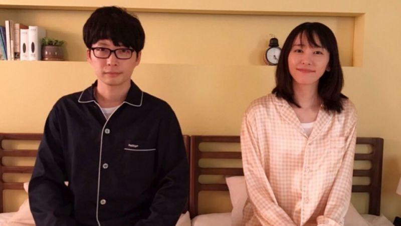 ▲新垣結衣(右)確定嫁給星野源,將遵照日本民法夫妻同姓。(圖/月薪嬌妻Twitter)