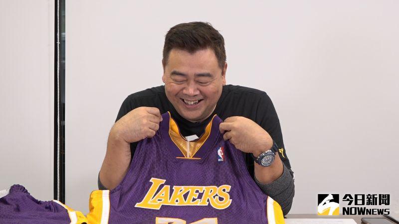 肯尼NOW星球/向黑曼巴致敬!Kobe超高質感蛇紋球衣開箱