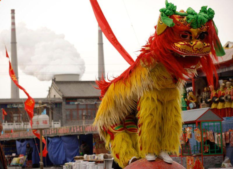 ▲澳洲總理莫里森先前指出中國的貿易制裁就像是舞獅一樣,只是戲曲性表演。示意圖。(圖/美聯社/達志影像)