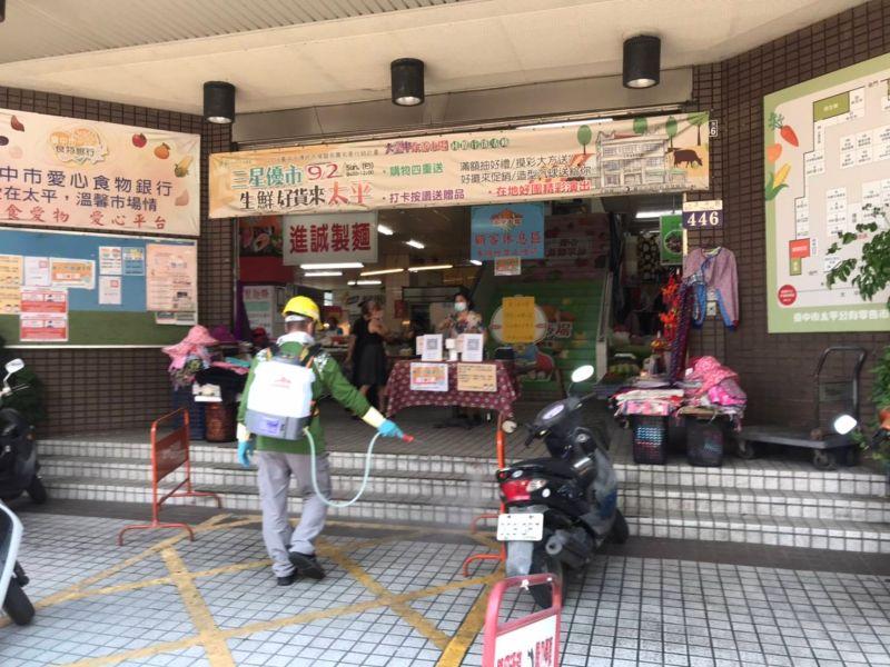 台中23日新增本土5確診足跡 其中曾至萬華廣州夜市