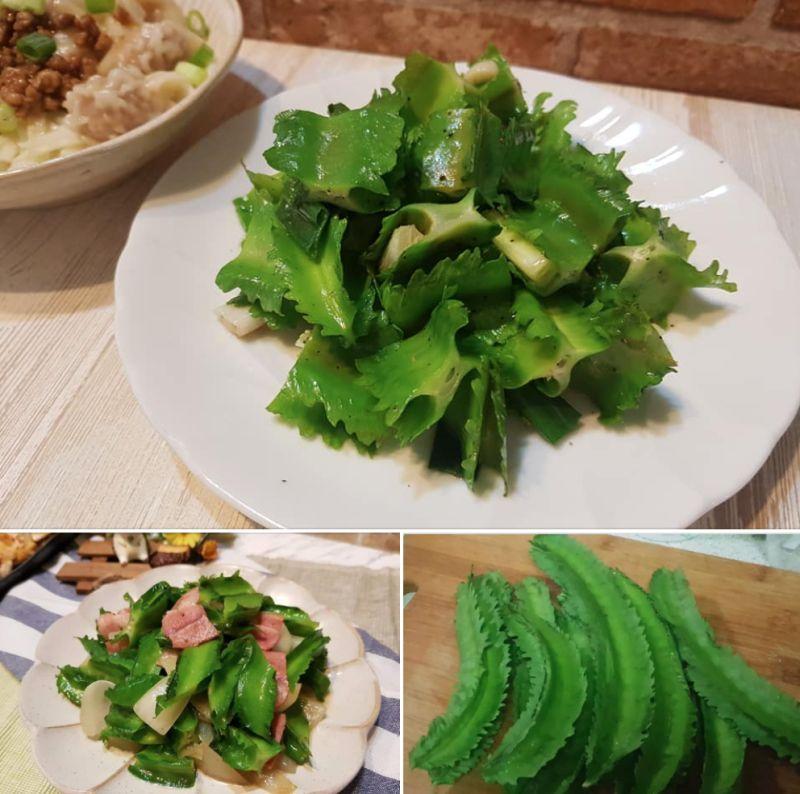 ▲一名女網友分享自己在全聯買到稀有青菜「翼豆」。(圖/翻攝自《我愛全聯-好物老實說》)