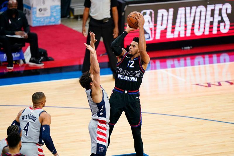 NBA/Harris轟生涯新高37分 76人季後賽首戰力克巫師