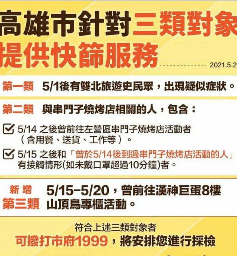 ▲陳其邁在臉書公布的一系列加強醫院防疫加嚴措施。(圖/截自陳其邁臉書)