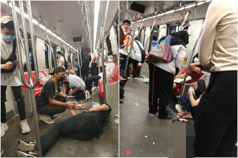 馬來西亞輕鐵意外47人重傷!車窗碎裂、乘客染血倒地