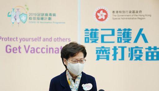 ▲香港2月底推動接種新冠疫苗計畫,主要使用中國科興疫苗和上海復星與BioNTech合作研製的「復必泰」疫苗。(圖/翻攝自新華網)