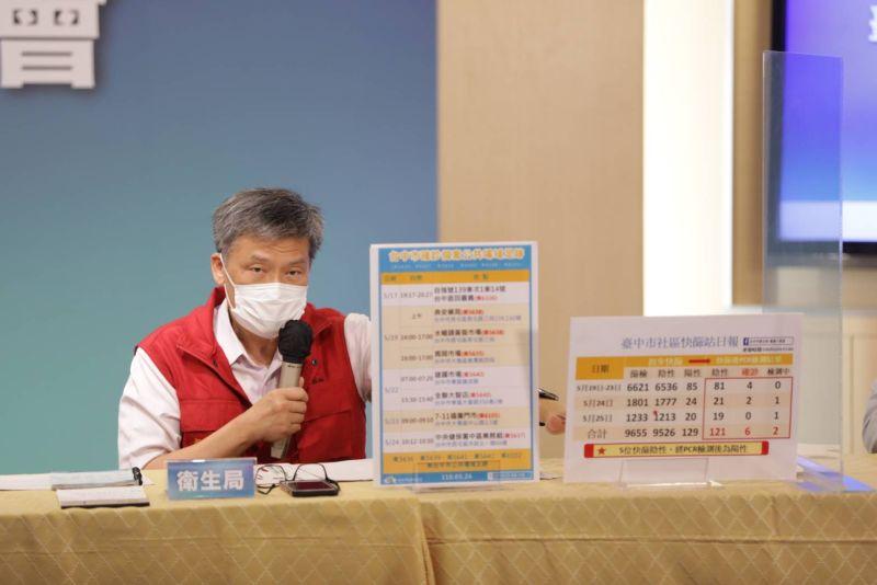 台中疫情26日新增本土確診11例足跡