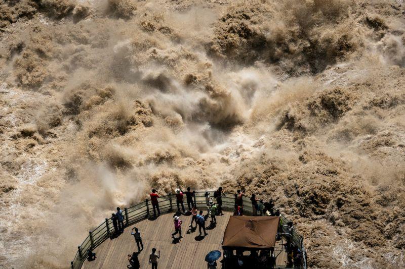 長江漢口水位打破百年紀錄!中國南方79條河流超過警戒