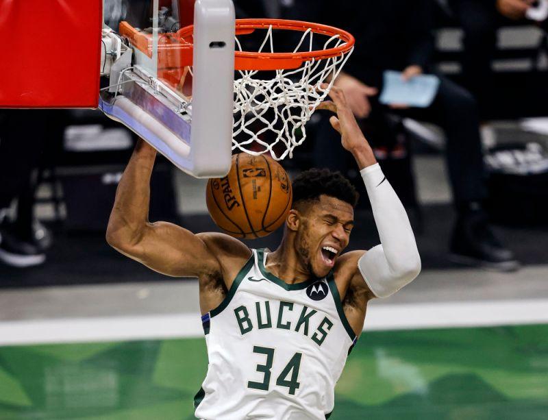 NBA/史詩之戰!字母哥砍40+13送籃網回家 公鹿晉級東決