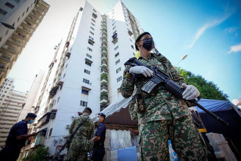 馬來西亞疫情燒不停 6月1日起全面行動管制