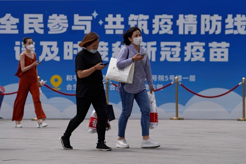▲中國12日新增34例新冠肺炎確診案例,其中6例本土案例皆在廣東。資料照。(圖/美聯社/達志影像)