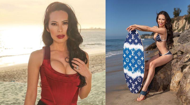 ▲洛杉磯貴婦Christine Chiu大方承認整形,臉蛋、身材都靠醫美增色不少。(圖/Christine Chiu IG)