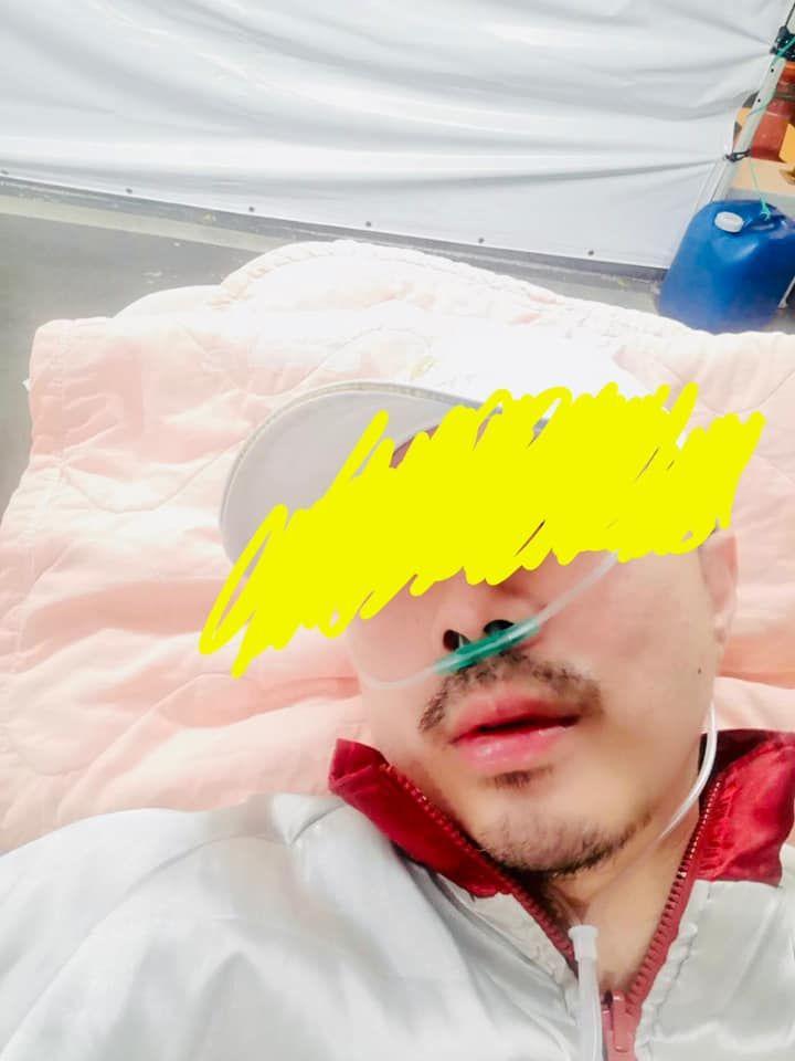 ▲林彥汝老公確診新冠肺炎後,情況嚴重。(圖/林彥汝臉書)