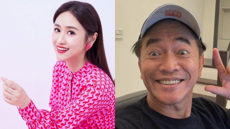 ▲Sandy(左圖)素顏狀態更像爸爸吳宗憲。(圖/吳姍儒臉書)