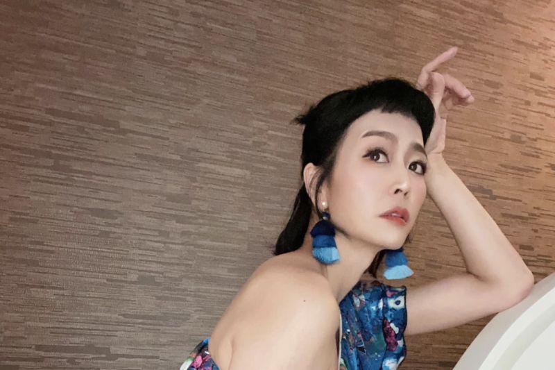 ▲唐玲前年罹患胃癌。(圖/唐玲臉書)