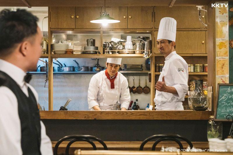 ▲《名偵探主廚》的餐廳中,除了有美味料理,還附加推理服務。(圖/KKTV)