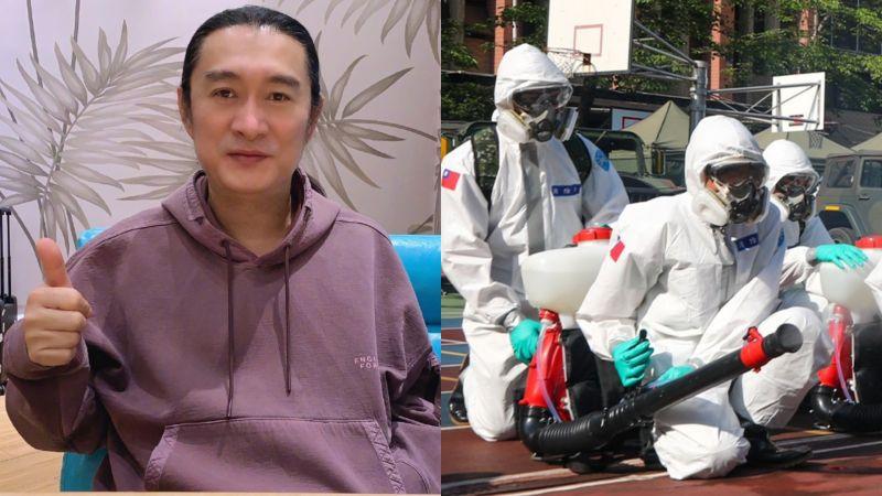 ▲台灣疫情延燒,黃安發聲。(圖/黃安微博、資料照)