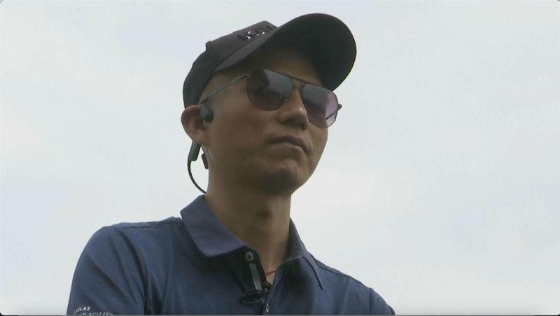▲中國視障登山家張洪在24日成功登上聖母峰,成為全球第一位征服世界第一高峰的亞洲視障者。(圖/美聯社/達志影像)